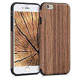 Urcover Custodia iPhone 6 / 6s Hybrid Back Cover Effetto Carbonio