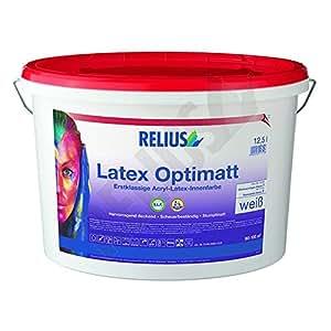 Relius latex optimatt 9,8 l interieur en latex de qualité -