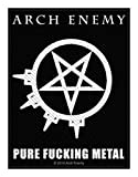 Arch Enemy Aufnäher - Pure Fucking Metal - Arch Enemy Patch - Gewebt & Lizenziert !!