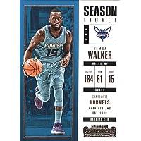 2017–18Dépasse Panini Season Ticket # 78Kemba Walker Charlotte Hornets Basketball carte