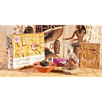 Berk Kyphi Pharaonen Räucher-Set komplett mit Tonschale, Sand, Räucherkohle und Kyphi-Kugeln preisvergleich bei billige-tabletten.eu