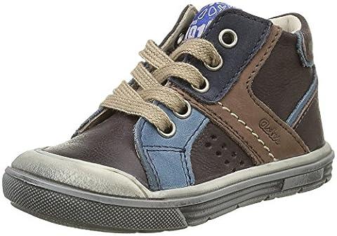 Aster Dribble, Chaussures Premiers pas bébé garçon, Marron (Marron), 26