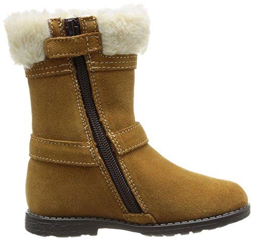 Start Rite Aqua Fur, Boots fille Marron (Honey Suede)