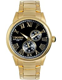 Time W80004G.01A - Reloj para hombres, correa de acero inoxidable