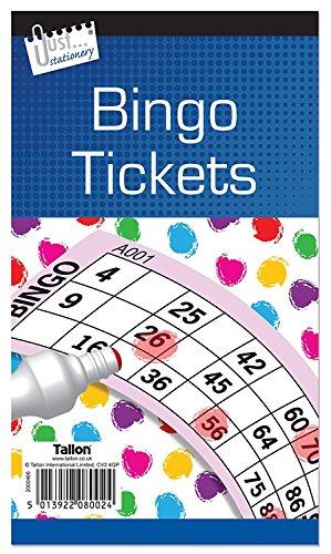 Jumbo Bingo Buch/Pad 480Tickets kaufen 1get 1gratis, 6. (Big, Bold, leicht zu lesen Zahlen) Originalverpackung