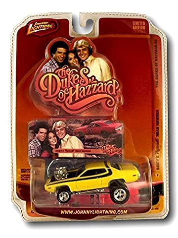 The Dukes of Hazzard Yellow Daisy's Plymouth Road Runner General Series #2 Diecast Toy Collectible High Quality Detailed Limited Edition Johnny Lightning by Johnny Lightning