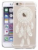 Coque Compatible avec iPhone 6 Plus / 6S Plus Rigide Transparente, Attrape Reve Blanc...