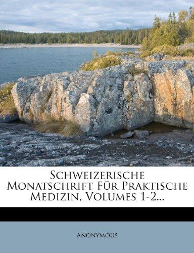 Schweizerische Monatschrift für praktische Medizin