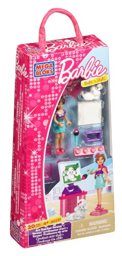 Mega Bloks 80237 Barbie Teresa Profesora de arte