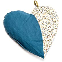 Grünspecht Kirschkern-Kissen Herzenswärme