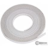3D Innovations 3D printer GT2 Timing belt (Material: PU with Steel Core) 6 mm width: (1 piece of 2 Meter length)