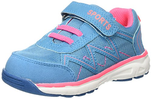 Supremo Kinderschuhe, Baskets Basses fille Turquoise - Türkis (turkis-neon pink)