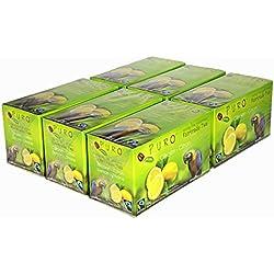Schwarztee ZITRONE Miko FAIRTRADE Puro schwarzer Tee Zitronentee Lemon Grosspackung - 6 x 25 Teebeutel…