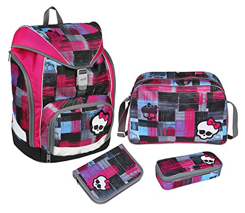 Schulrucksackset Monster High Twixter (Sport High Monster)