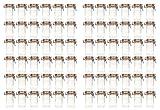 HAC24 72x Drahtbügelglas 250ml Einmachgläser Einweckgläser Vorratsgläser Bügelverschluss
