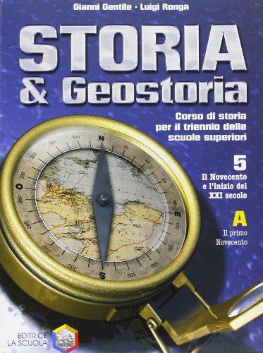 Storia e geostoria. Per la 5ª classe superiore