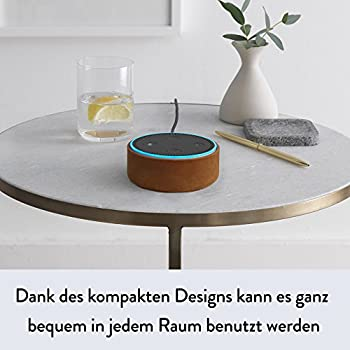 Amazon Echo Dot (2. Generation) Intelligenter Lautsprecher Mit Alexa, Schwarz 5