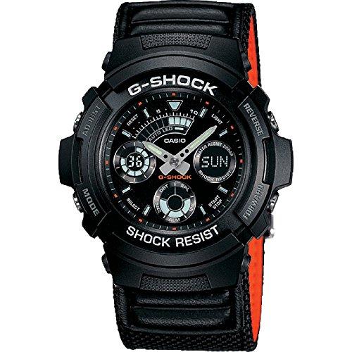 Casio G-Shock AW-591MS-1A, Orologio da polso Uomo, Nero