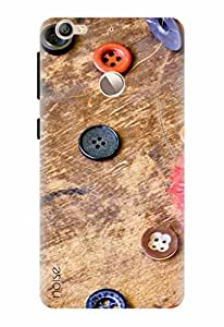 Noise Case, Letv Le 1S Printed Case [Shock Absorbing] Designer Cover fits LeEco X509 Le 1s Eco - (GD-326)
