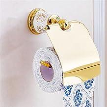 Modylee Golden Brass Bagno porta carta igienica a parete porta senza tessuti di rivestimento 87307 , 2