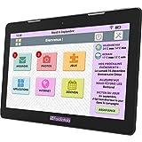 FACILOTAB Tablette XXL 13,3 Pouces WiFi - 64 GB - Android 6 (Interface simplifiée pour Seniors)