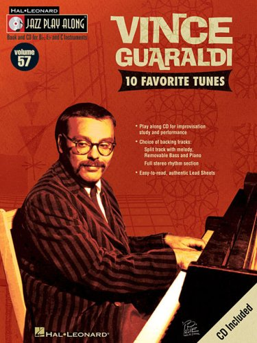 ume 57 - Vince Guaraldi C/Bb/Eb Inst Bk/Cd (Hal Leonard Jazz Play-Along) ()