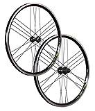 Vuelta 26 Zoll Laufradsatz Quattro X Shimano HB/FH-RM40 schwarz 24 Loch