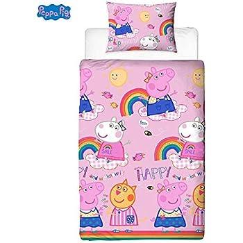 Peppa Wutz Mädchen Bettwäsche Kinderbettwäsche Peppa Pig
