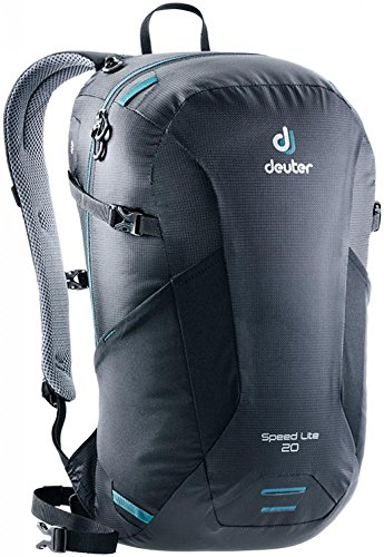 Deuter Speed Lite 20 Rucksack, Black, 46 x 26 x 18 cm, 20 L