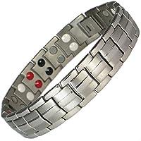 Magnetisches Armband Titan mit magneten - Modell Argentor - 15,5 cm preisvergleich bei billige-tabletten.eu
