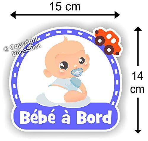 Sticker Bébé à bord Garçon - Autocollant bébé à bord Garçon
