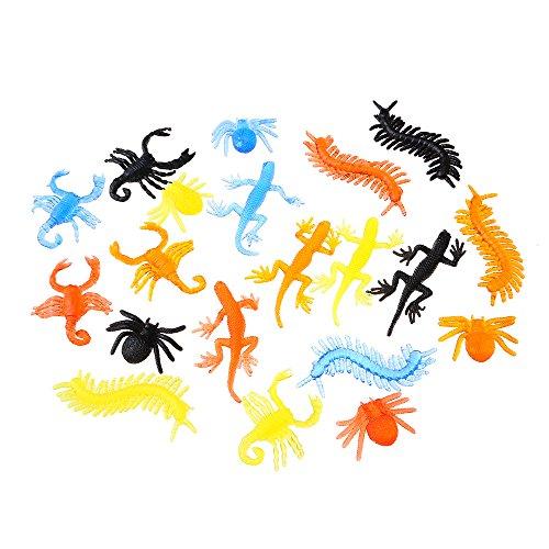 13 Glibber Tiere für Kinder | Klebrige Sticky Monster Spielzeug | Viele Farben und Formen | Kindergeburtstag Party Kinderparty Mitgebsel Geschenk | Beyond Dreams (Halloween Tiere)