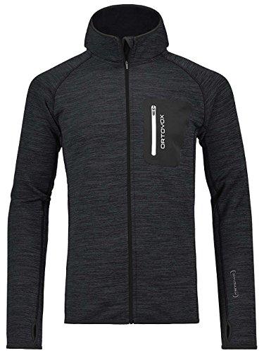 Ortovox Melange Hooded Fleece Large Black Blend