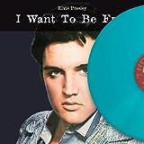 1.5 Elvis Presley, I Want To Be Free, TURQUOISE Vinyl (Ltd 250)