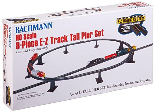 Bachmann Trains 8 PC. E-Z Track Longue jetée de