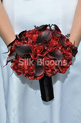 rose-noir-rouge-fonc-calla-lily-bouquet-de-marie-gothique