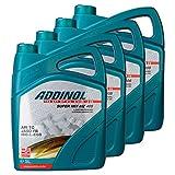 4X Addinol Motoröl Motorenöl Motor Motoren Motor Oil Engine Oil 2-Takt Super Mix Mz 405 (Rot Gefärbt) 5L