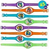 THE TWIDDLERS 45 Juguetes Reloj Pulseras Rompecabezas Laberinto Relojes para Niños - Rellenos De Juguete Detalles Regalos Cumpleaños Ninos Infantiles Favores La Piñata Y...
