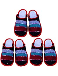 526aef53525cf Amazon.in  Wool - Flip-Flops   Slippers   Women s Shoes  Shoes ...