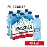 LEVISSIMA Acqua Minerale Oligominerale Frizzante 50cl x 6
