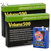 Preisvergleich für 2x30 Volume500 Tabletten für mehr Sperma - Mittel für mehr Sperma, mehr Spermavolumen und besseren Spermageschmack...