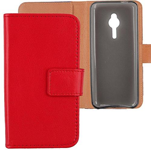 Gukas PU Leder Tasche Hülle Für Nokia Lumia 230 2.8