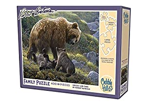 Cobble Hill 54584 Casse-Têtes - Grizzly and Cubes