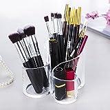 Contenitore Cosmetico per Spazzole, Shsyue Organizzatore Cosmetico di Trucco di trucco Fatto di Acrilico, Portaspazzole Cosmetici