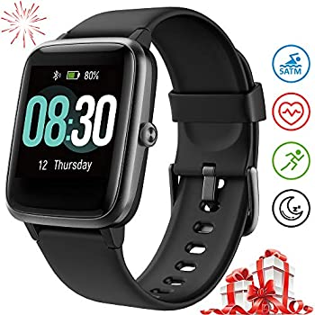 UMIDIGI Reloj Inteligente Uwatch3 Smartwatch 5ATM Impermeable con Cronómetro Pulsera Actividad Inteligente Reloj de Fitness con Podómetro Smartwatch ...