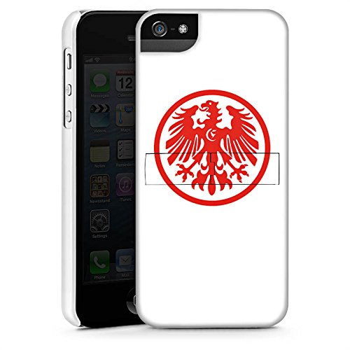 Apple iPhone X Silikon Hülle Case Schutzhülle Eintracht Frankfurt Fanartikel Fussball Premium Case StandUp