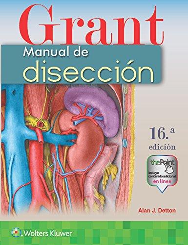 Grant. Manual de disección, 16.ª por Alan J. Detton