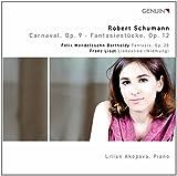 Carnaval op. 9/ Fantasie/ Fantasiestücke op. 12/ Liebeslied