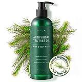 Aprilis Antifungal Tea Tree Oil Body Wash, Shower Gel, Relieve Athlete's Foot, Ringworm
