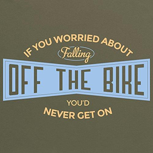 Cycling - Off The Bike T-Shirt, Damen Olivgrn